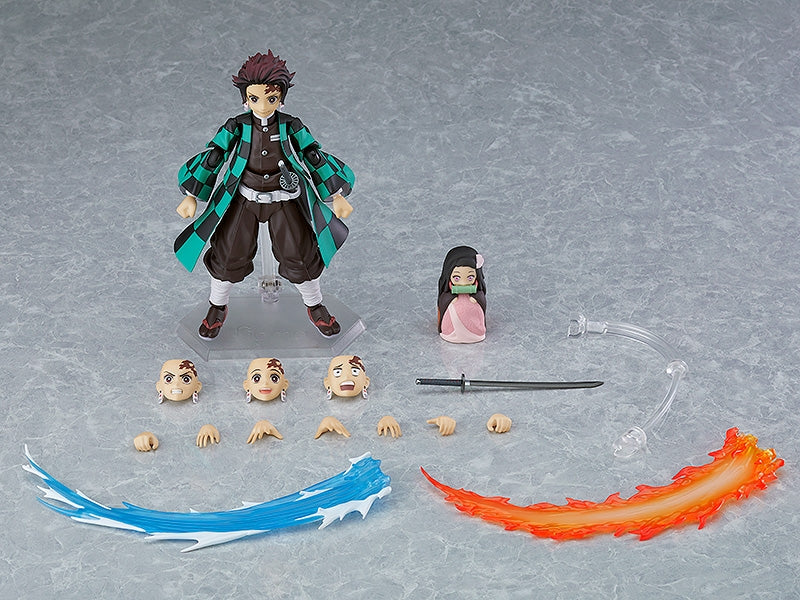 (Action Figure) Demon Slayer: Kimetsu no Yaiba figma Tanjiro Kamado DX Edition