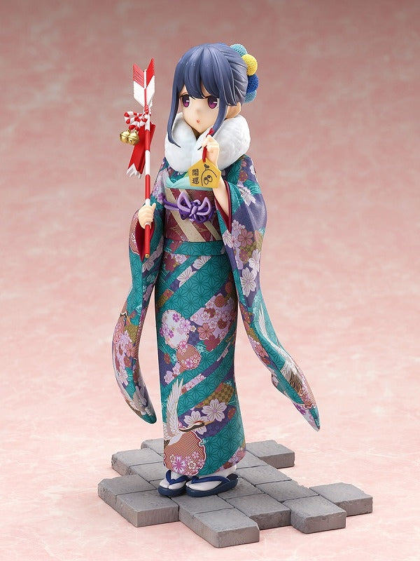 (Bishojo Figure) Laid-Back Camp SEASON 2 Shima Rin: Furisode