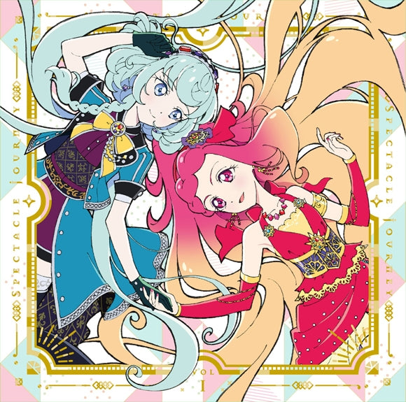 (Theme Song) Aikatsu Friends! TV Series 2nd Season Insert Song: SPECTACLE JOURNEY Vol. 1 by BEST FRIENDS!