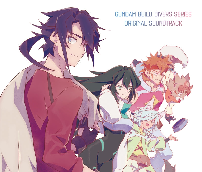 (Soundtrack) Gundam Build Divers TV Series Original Soundtrack