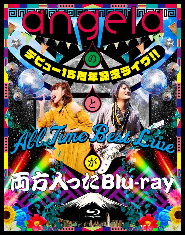 (Blu-ray) angela Debut 15th Anniversary Live!! & All Time Best Live Double Feature Blu-ray
