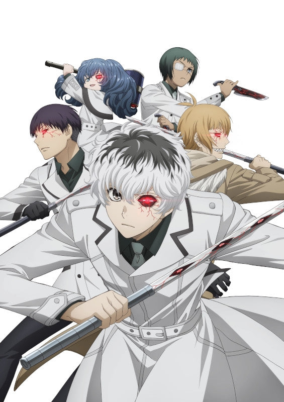 (Blu-ray) Tokyo Ghoul: re TV Series Blu-ray BOX [First Run Limited Edition]