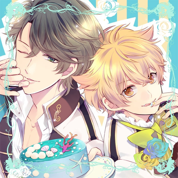 (Drama CD) CDs Where You Are Sandwiched Between Idols: √HAPPY+SUGAR=SAND 2nd - Kan & Chuu (CV. Nobuhiko Okamoto & Yuuki Kaji)