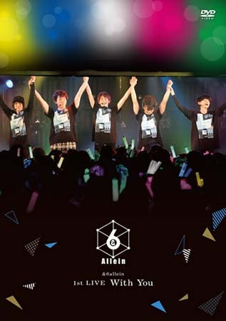 (DVD) &6allein 1st LIVE: With You [Regular Edition]