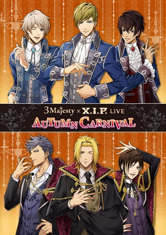 (DVD) 3 Majesty x X.I.P. LIVE -AUTUMN CARNIVAL- [Regular Edition]