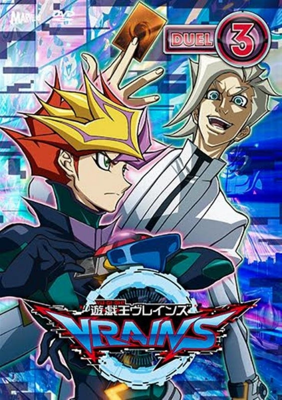 dvd yu gi oh vrains tv series duel 3 animate international