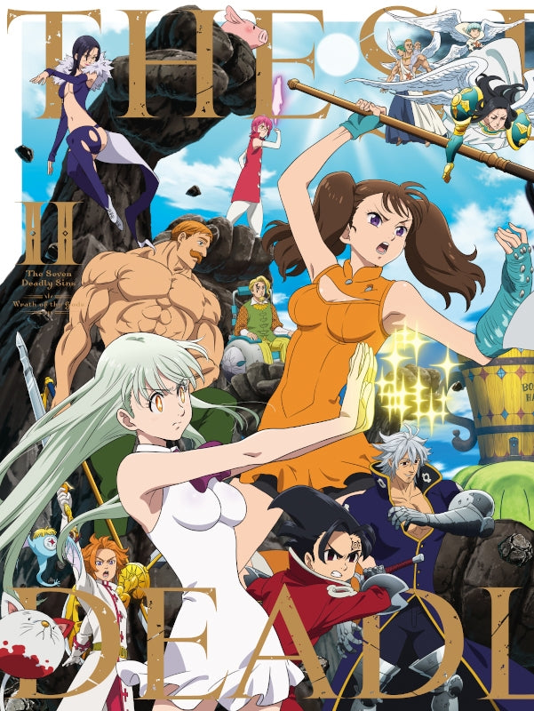 (DVD) The Seven Deadly Sins: Wrath of the Gods TV Series DVD-BOX II