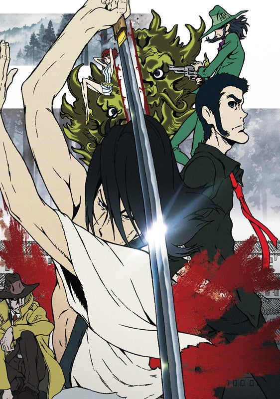 (Blu-ray) Lupin the IIIrd: Chikemuri no Ishikawa Goemon [Regular Edition]