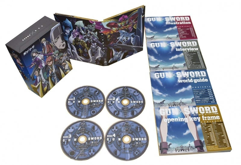 (Blu-ray) Gun x Sword Blu-ray Box Animate International
