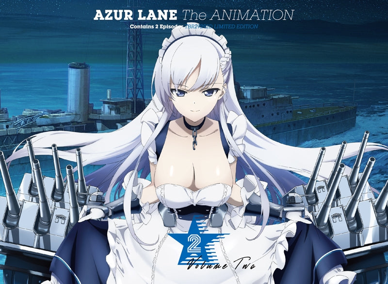 [★1](Blu-ray) Azur Lane TV Series Vol. 2 [First Run Limited Edition]