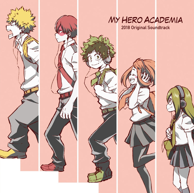 (Soundtrack) My Hero Academia TV Series 2018 Original Soundtrack