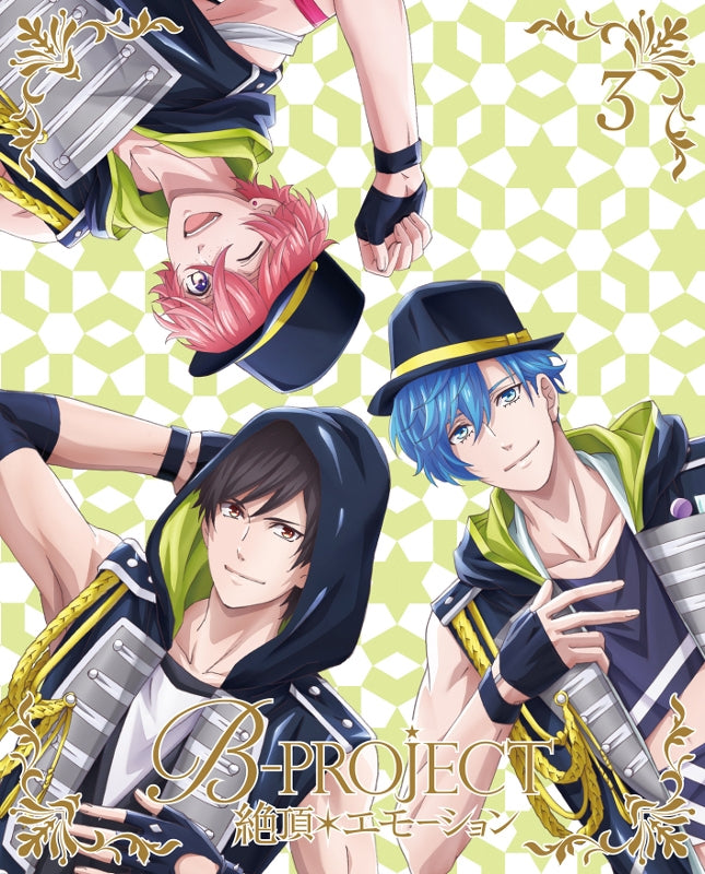 (DVD) B-Project: Zecchou*Emotion TV Series Vol. 3 [Complete Production Run Limited Edition]
