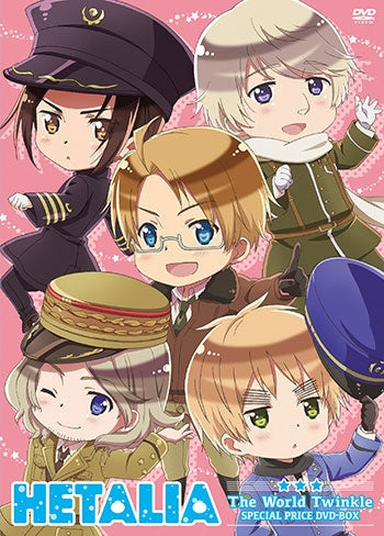 (DVD) Hetalia: The World Twinkle Web Series Special Price DVD Box