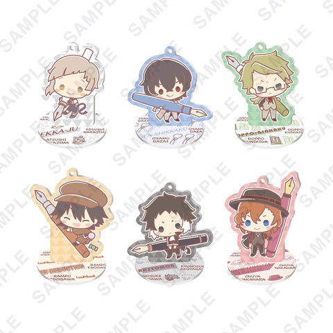 (1BOX=6) (Goods - Stand Pop) Bungo Stray Dogs x Design produced by Sanrio Acrylic Stand Figure