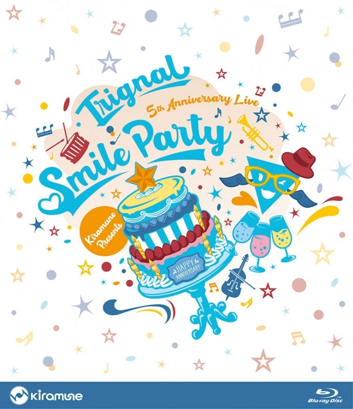 (Blu-ray) Trignal 5th Anniversary Live: SMILE PARTY Live Blu-ray