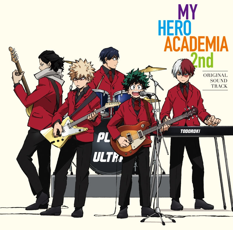 (Soundtrack) My Hero Academia TV Series 2nd Original Soundtrack