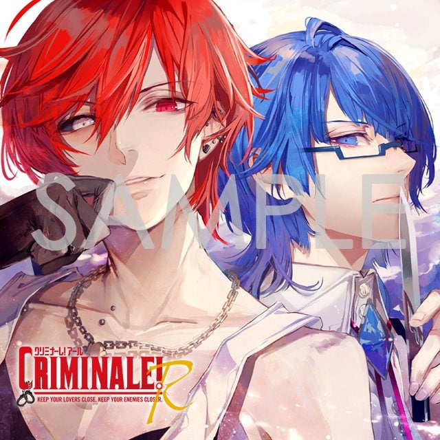 (Drama CD) CDs Where You Have 24 Hours To Expose the Truth With Your Men: Criminale! R Vol.2 - Lucia & Kara (CV. Takashi Kondou & Hiro Shimono)