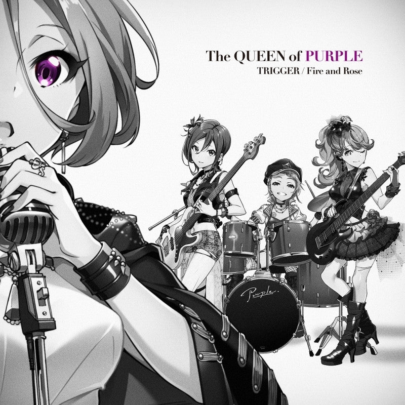 (Character Song) Tokyo 7th Sisters Game: TRIGGER by The QUEEN of PURPLE [Regular Edition]