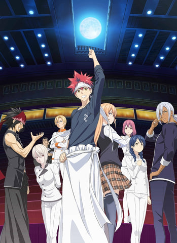 (Blu-ray) Food Wars! Shokugeki no Soma TV Series: The 2nd Plate Blu-ray BOX [First Run Limited Edition]