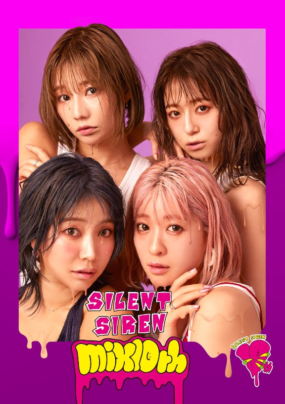 (Album) mix10th by SILENT SIREN - Album Including Watanuki-san Chi No TV Series ED: Shigatsu no Kaze [First Run Limited Edition]