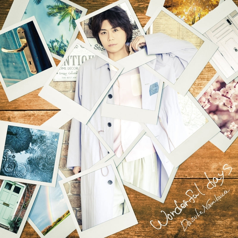 (Maxi Single) wonderful days by Daisuke Namikawa [Deluxe Edition, First Run Limited Edition]