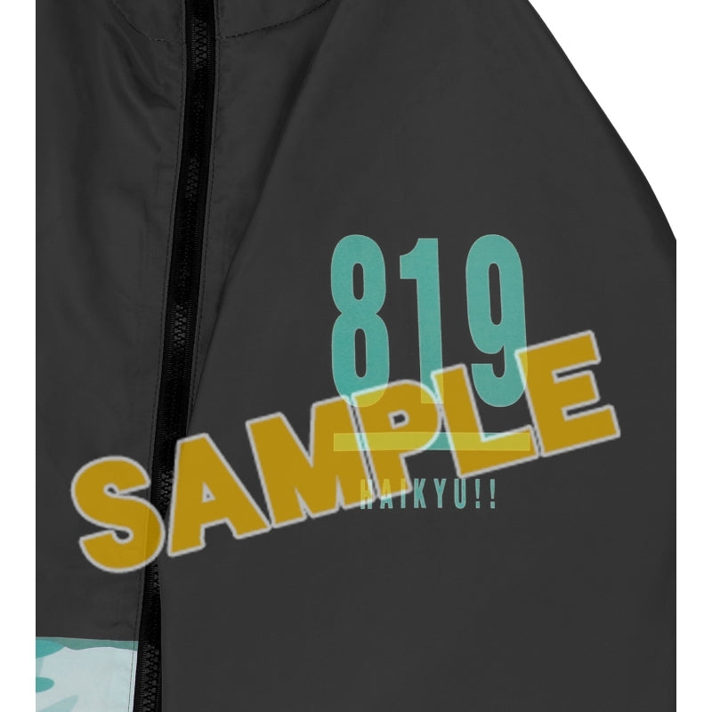 (Goods - Cycling Wear) Haikyu!! TO THE TOP Aoba Johsai High All Over Print Windbreaker Unisex (Size/S) (animate Advance Sale)