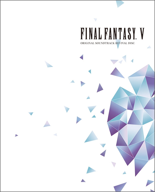 (Blu-ray) FINAL FANTASY V ORIGINAL GAME SOUNDTRACK REVIVAL DISC