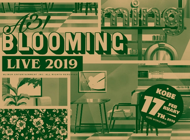 (Blu-ray) A3! BLOOMING LIVE 2019 [Kobe Performance Edition]
