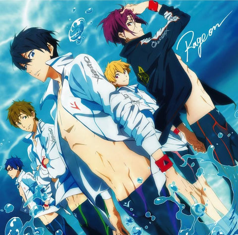 (Theme Song) TV Anime Free! OP: Rage on / OLDCODEX [Anime Edition]