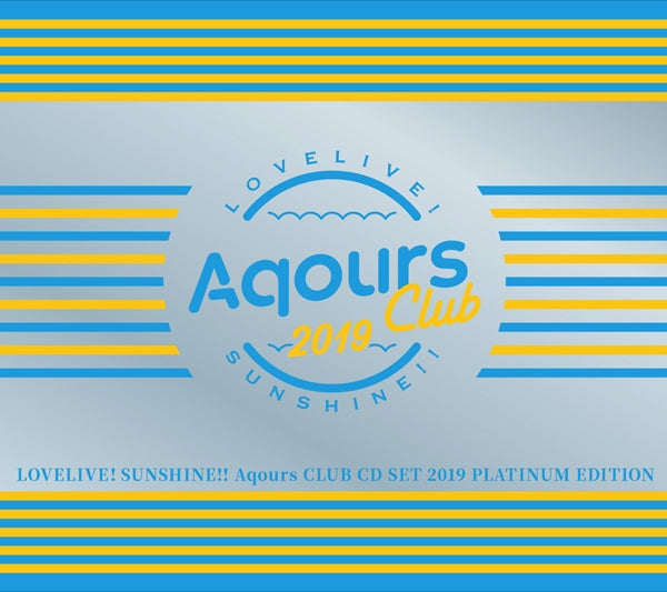 (Maxi Single) Love Live! Sunshine!! Aqours CLUB CD SET 2019 PLATINUM EDITION [First Run Limited Edition]