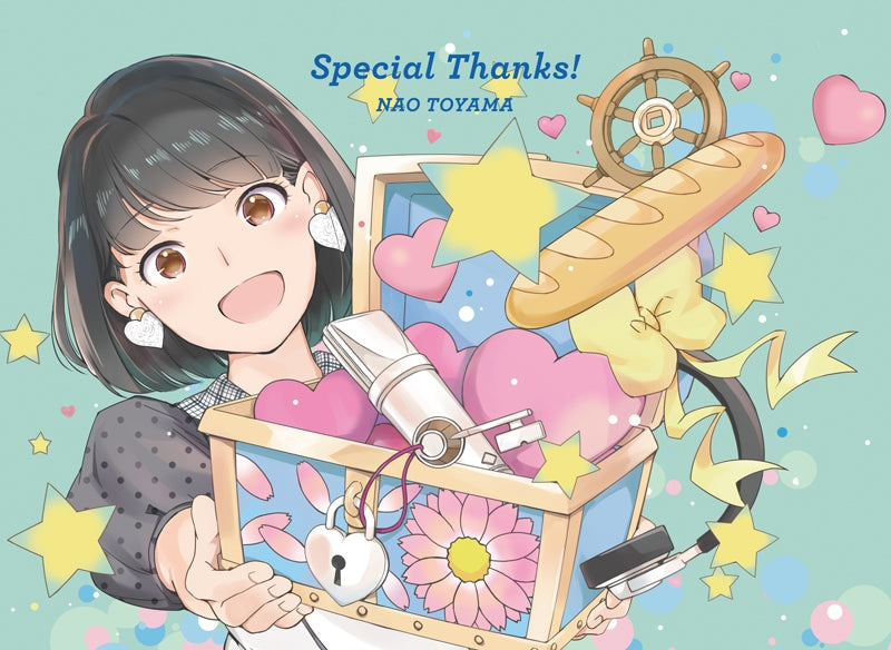 (Album) Special Thanks! by Nao Toyama [Anniversary Special Edition]