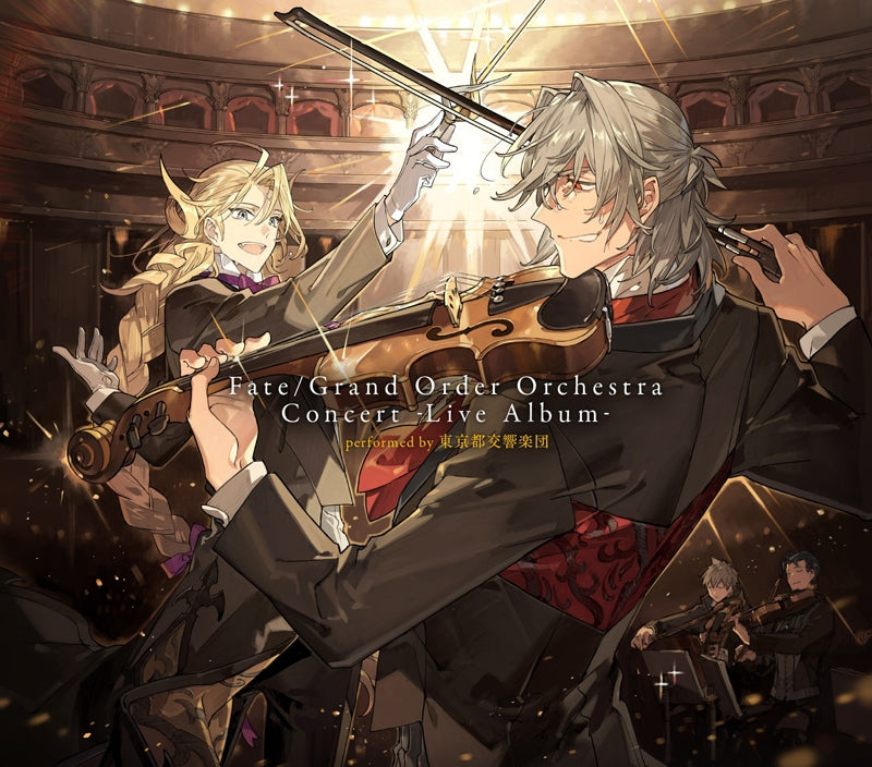 (Album) Fate/Grand Order Orchestra Concert -Live Album- performed by Tokyo Metropolitan Symphony Orchestra [Complete Production Run Limited Edition]