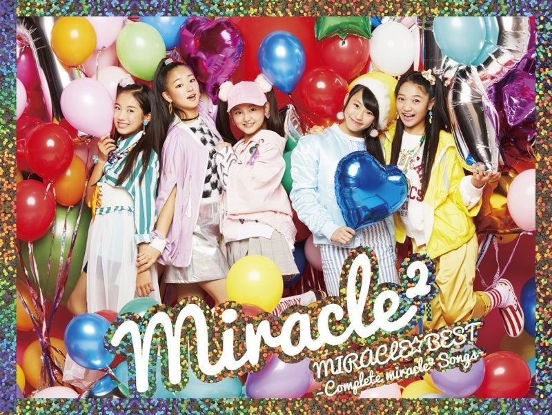 (Album) MIRACLE☆BEST: Complete miracle2 Songs by miracle2 from Miracle Tunes! [First Run Limited Edition]