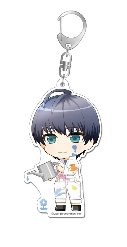 (Goods - Key Chain) A3! Paint Collection Deka Acrylic Key Chain Tsukioka Tsumugi