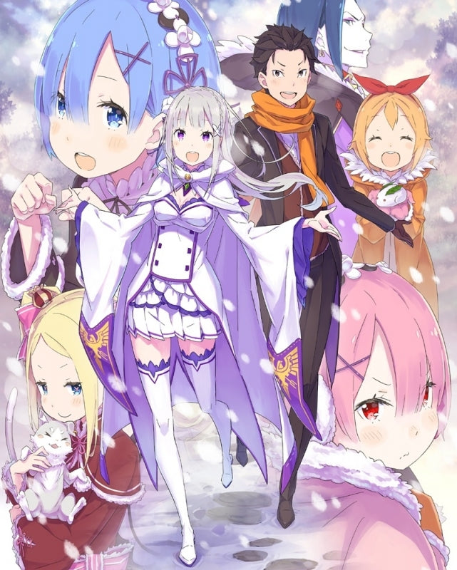 Blu Ray Re Zero Starting Life In Another World Memory Snow Ova L