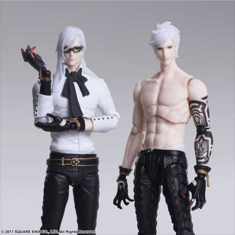 (Action Figure) NieR: Automata BRING ARTS Adam & Eve