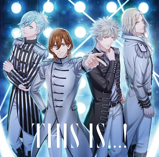 (Character Song) Uta no Prince-sama: SUPER STAR/THIS IS. . . !/Genesis HE★VENS [Cover Art: QUARTET NIGHT Ver.]