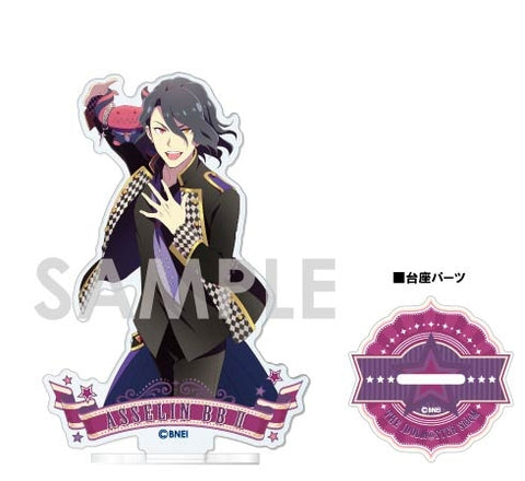 (Goods - Stand Pop) The Idolmaster SideM Acrylic Stand~1st STAGE & 2nd STAGE~ Vol. 2 J. Asselin BB II
