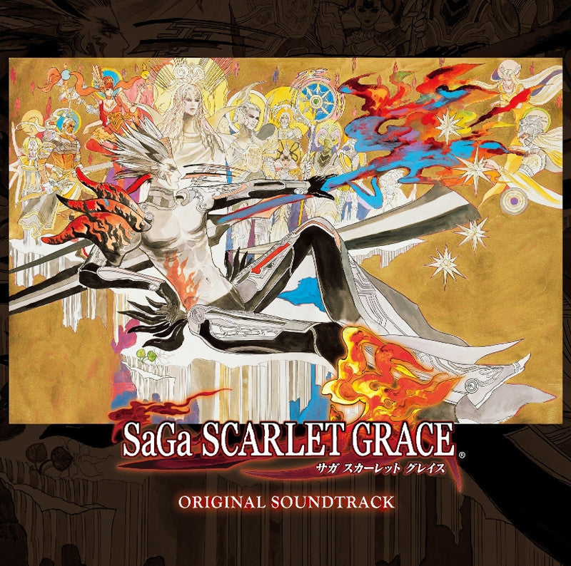 (Soundtrack) PSV SaGa Scarlet Grace Original Soundtrack