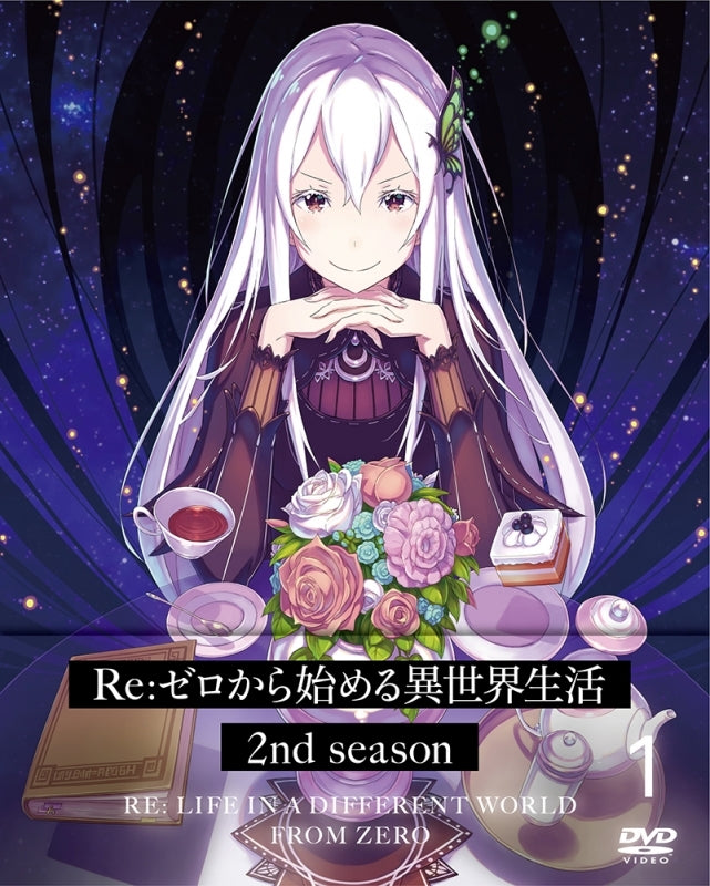 (DVD) Re:Zero - Starting Life in Another World TV Series 2nd season Vol. 1