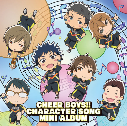 (Album) Cheer Boys!!  (Cheer Danshi!!) TV Series Character Song Mini-album
