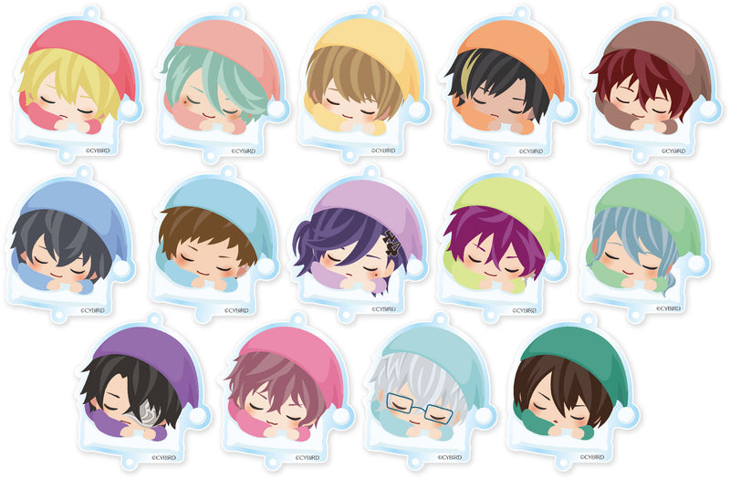 [※Blind Box] (Goods) Ikemen Revolution: Love & Magic in Wonderland Trading Acrylic Charm - Goodnight Ver.