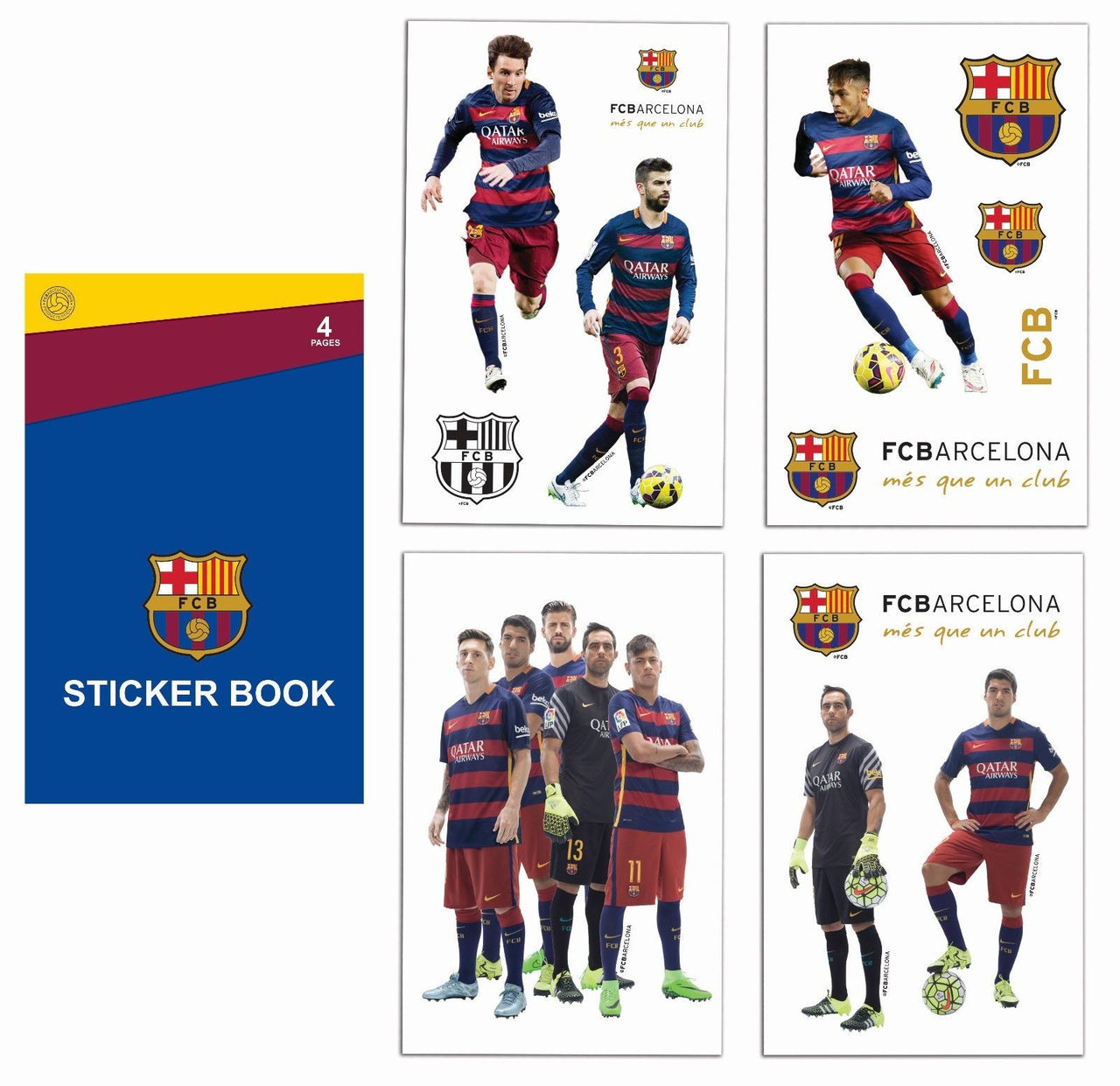 hot sale online 683dd 528ad SOCCER EUROPE CLUB OFFICIALLY LICENSED STICKER BOOKS ...