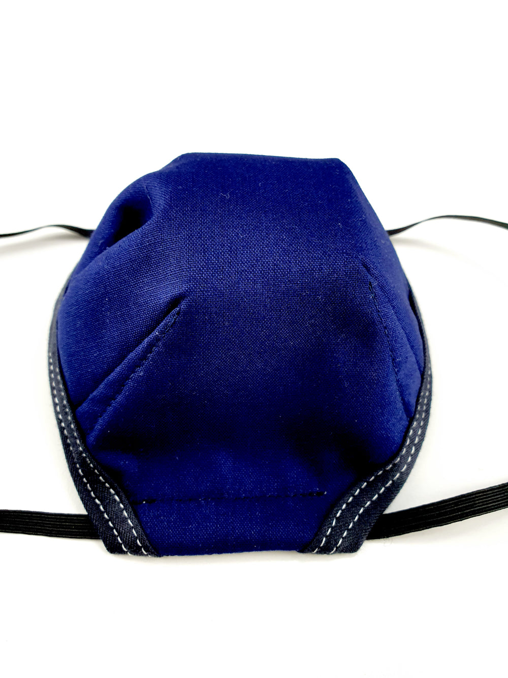 Reusable Navy Blue Face Mask With Filter (TNT)