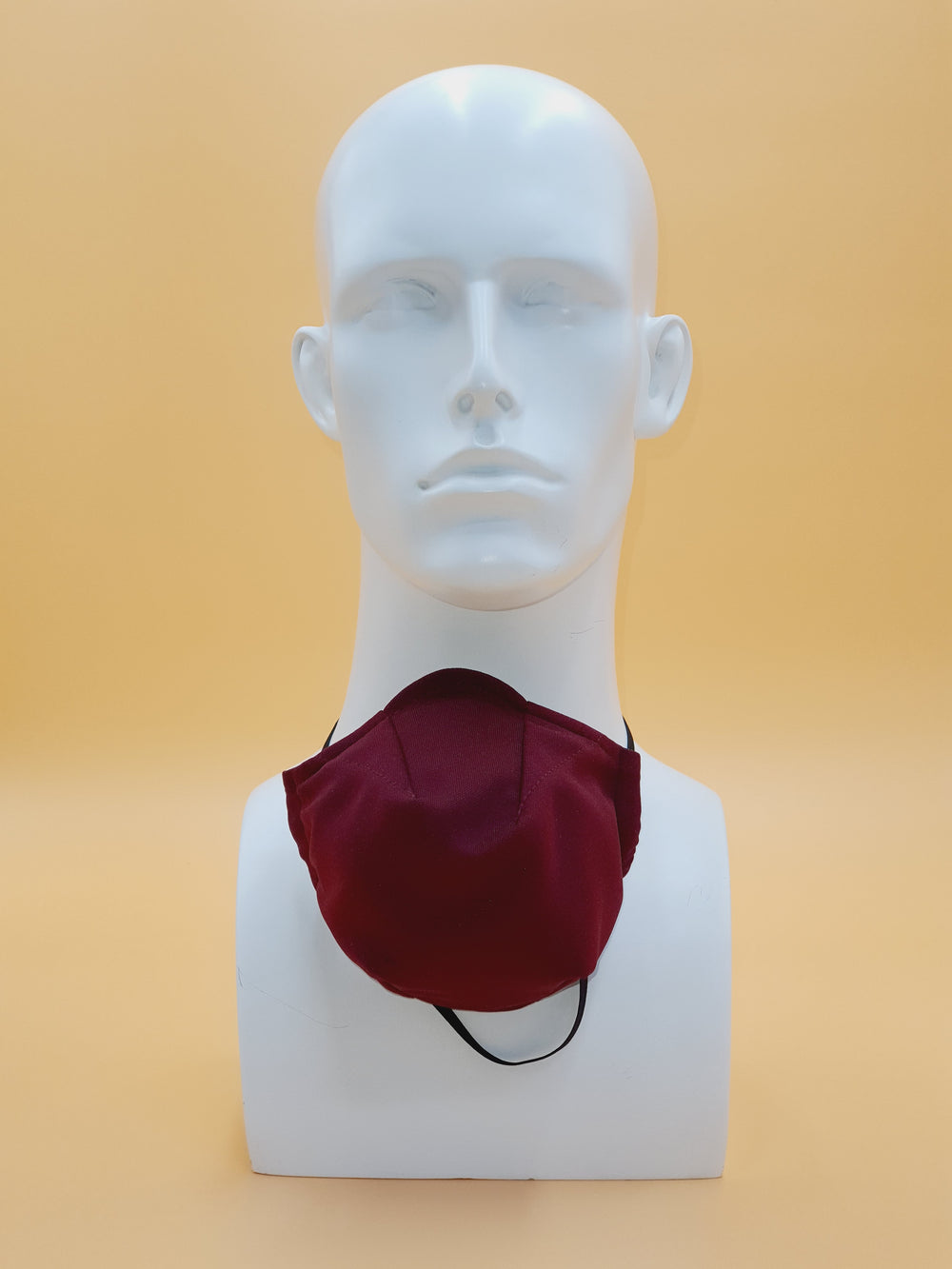 Maroon Reusable Face Mask