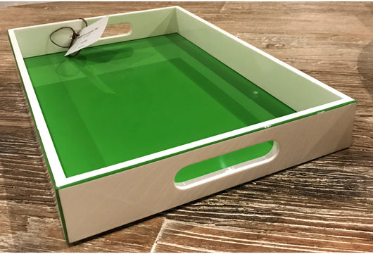 Lacquer Tray - Apple Green