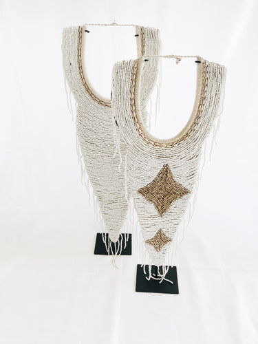 LARGE BEADED TRIBAL NECK PIECE