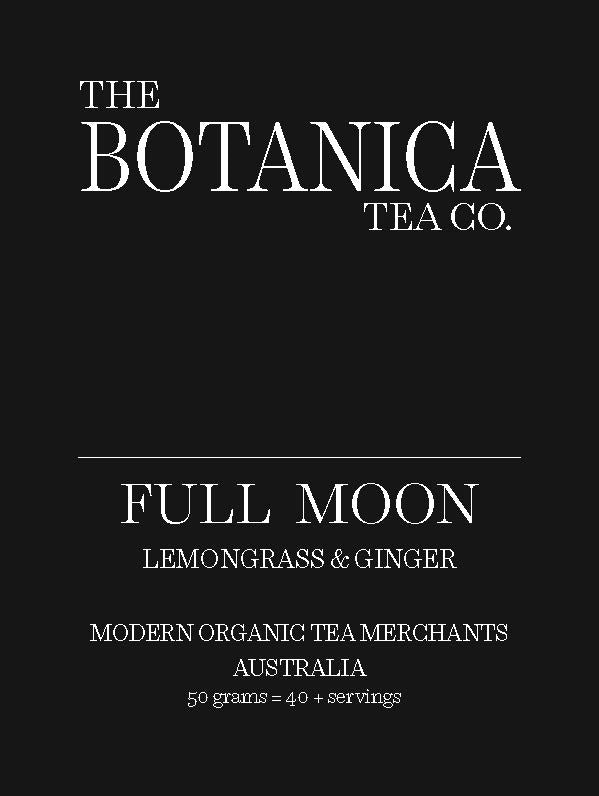 FULL MOON Lemongrass & Ginger