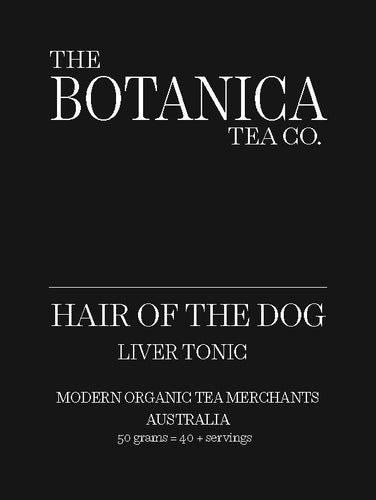 HAIR OF THE DOG Liver Tonic