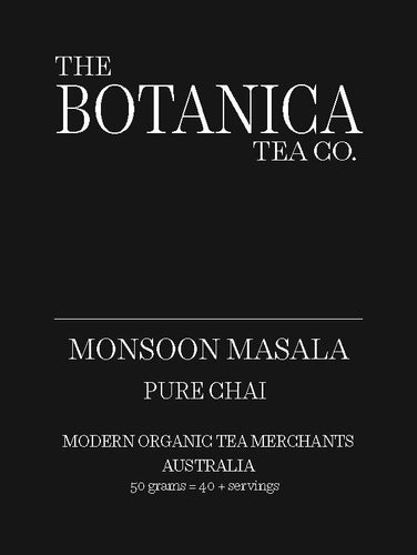 MONSOON MASALA Pure Chai